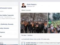 """Florin Popescu ia în derâdere mitingul PDL de sâmbătă: """"Atunci și acum"""""""