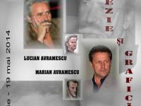Lucian și Marian Avramescu, prezenți la Târgoviște pentru un eveniment aparte: Poezie și grafică în Cetatea de Scaun!