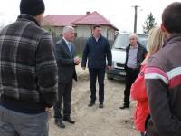 FOTO: Țuțuianu, vizită de lucru pe șantierele din Titu!