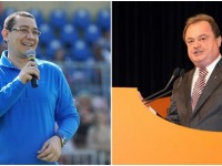 Dâmbovița, prima zi de campanie electorală: Victor Ponta și Vasile Blaga încep de aici lupta pentru europarlamentare!