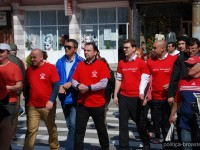 GALERIE FOTO: Președintele PES Activists România și candidatul la europarlamentare Victor Negrescu – acțiune electorală alături de PSD Târgoviște