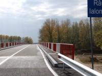Circulație închisă pe podul de la Finta peste râul Ialomița