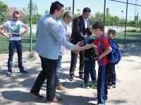 Președintele FRF, Răzvan Burleanu, vizită la Titu și discuții cu privire la construirea noului stadion de 7000 de locuri