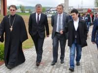 """FOTO: Ministrul Remus Pricopie – vizită la Campusul Universității """"Valahia"""" și angajamentul că la 1 octombrie va fi inaugurat"""