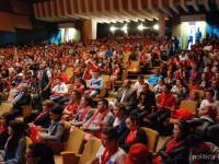 GALERIE FOTO: Eveniment electoral TSD Dâmbovița – 800 de tineri au umplut Sala Sindicatelor din Târgoviște