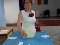 Mesajul Claudiei Gilia după ce a votat: Cred sincer că România puternică în Europa va vorbi astăzi prin rezultatul alegerilor!