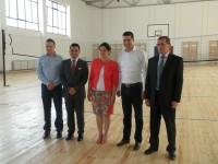 Proiect european: Sală de sport inaugurată la Liceul Nicolae Ciorănescu!