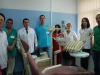FOTO: Spitalul Județean de Urgență Târgoviște are din nou cabinet de stomatologie!