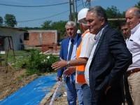 Adrian Țuțuianu, vizită de lucru la obiectivele de investiții din Moreni (foto)