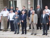 FOTO: Ziua imnului național, sărbătorită la Târgoviște