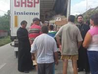 Arhiepiscopia Târgoviștei – ajutoare pentru familiile sinistrate din Oltenia