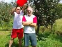 Liviu Stoica s-a alăturat campaniei ICE BUCKET CHALLENGE! Provocare transmisă lui Ionuț Săvoiu, Vlad Oprea și Marian Țachianu