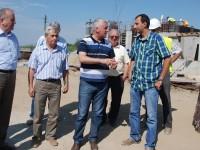 Avansează lucrările la sursele de apă și stațiile de epurare din Titu și Găești pe proiectul european al Companiei de Apă