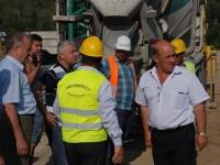 Președintele CJD și primarul Constantin Dinu – vizită de lucru la obiectivele de investiții din Moreni