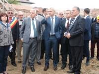 FOTO: Vicepremierul Liviu Dragnea, vizită de lucru la Palatul brâncovenesc de la Potlogi