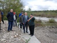 Investiție finalizată la Brănești: Apărare de mal pe râul Ialomița, în zona Scârlențea