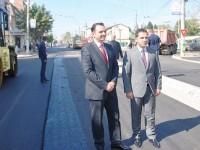 Executivul Primăriei Târgoviște – vizită de lucru pe I.C. Brătianu. Când se va finaliza bulevardul?