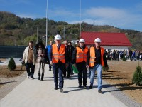 GALERIE FOTO: A fost inaugurată Stația de epurare Fieni!