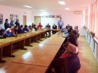Peședintele CJD și deputatul Georgică Dumitru – întâlnire de lucru cu salariații Automecanica Moreni