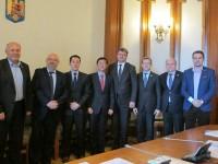 Senatori și deputați de Dâmbovița, întâlnire cu reprezentanții Samsung