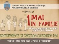 Sărbătoare-concurs la Târgoviște: 1 Mai în familie!