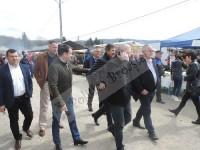 FOTO și declarații: Deputatul PSD Zisu Stanciu, alături de Dan Miculescu și UNPR în târgul de la Voinești!