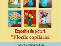 """""""Florile copilăriei"""" – expoziție de pictură la Muzeul de Istorie din Târgoviște!"""