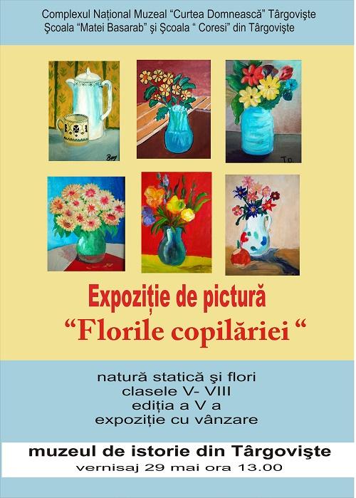 afis  2015 florile copilariei 1 iunie