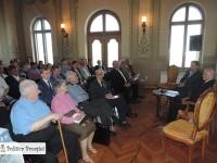 Seniorul Dinu Zamfirescu le-a vorbit liberalilor dâmbovițeni despre istoria celui mai vechi partid din România!