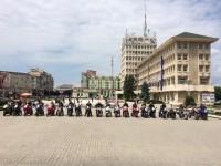 Tânărul motociclist decedat acum 2 zile, petrecut pe motoare pe ultimul său drum pământesc!