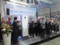 Istorie-record la Arctic Găești: A fost sărbătorit frigiderul cu numărul 25.000.000! (galerie foto)