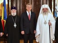 Patriarhul Daniel și IPS Mitropolit Nifon au primit vizita Secretarului General al Consiliului Mondial al Bisericilor