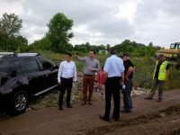 FOTO: S-au reluat lucrările la centura municipiului Târgoviște!