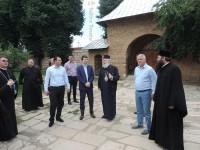 FOTO: Ministrul Culturii, vizită la bisericile-monument din municipiul Târgoviște!