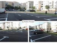 TÂRGOVIȘTE: Parcare modernă, cu 100 de locuri, amenajată în micro 3!