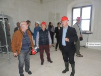 Vizită pe șantierul Palatului de la Potlogi! Adrian Țuțuianu: 15 noiembrie – finalizare, 29 noiembrie – inaugurare!