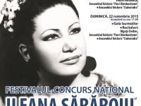 """Târgoviște, 21 – 22 noiembrie: Festivalul – Concurs Național """"Ileana Sărăroiu""""!"""