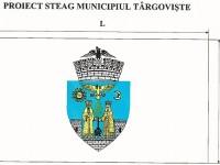 Consilierii locali au aprobat modelul de steag al municipiului Târgoviște!