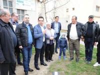 Ciprian Prisăcaru (PNL) a început întâlnirile electorale din Târgoviște, în micro XI!