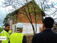 Se restaurează Casa Atelier Gabriel Popescu din Vulcana Pandele! Vizită de lucru pe șantier