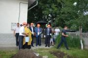 Președintele CJD, prezent la punerea pietrei de temelie a grădiniței din Raionul Ialoveni!