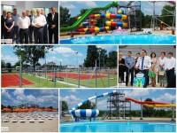 Târgoviște: Liviu Dragnea, parlamentari, primari și șefi de CJ, vizită la Complexul Turistic de Natație (foto)