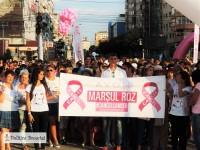 Marșul roz: Târgoviștenii au răspuns apelului #CANCELCANCER! (foto)