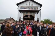 Târnosirea bisericii reabilitate din Parohia Lungulețu! (foto)