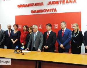 PSD Dâmbovița a depus listele pentru parlamentare. Ordinea finală și declarații!