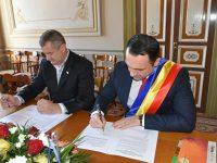 De Ziua Națională a României: Municipiul Târgoviște, protocol de înfrățire cu orașul Căușeni din Basarabia!