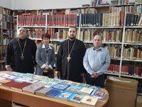 Arhiepiscopia Târgoviștei, donație de cărți pentru biblioteca Palatului brâncovenesc de la Potlogi!