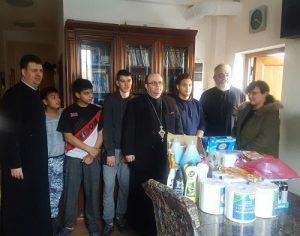 """Sprijin pentru copiii din apartamentul social """"Sf. Ierarh Nicolae"""" al Centrului Social Creștin al Arhiepiscopiei Târgoviștei"""