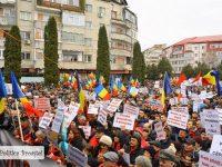 GALERIE FOTO: Târgoviște – cel mai mare miting de susținere pentru Guvernul Grindeanu!