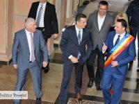 Târgoviște: Premierul Sorin Grindeanu, întâlnire cu primarul Cristian Stan și discuție despre prioritățile municipiului! (foto + declarații)